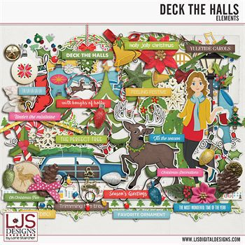 Deck The Halls - Elements