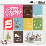 Deck The Halls - Journal Cards
