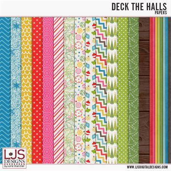 Deck The Halls - Papers