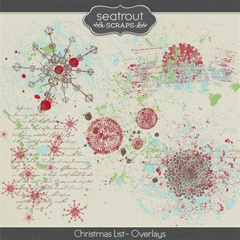 Christmas List - Overlays