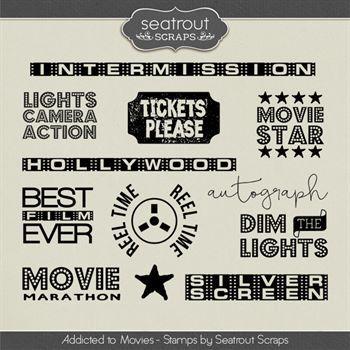 Movie Addiction - Stamps