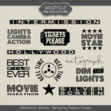 Movie Addiction - Stamps