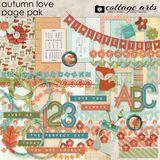 Autumn Love Page Pak