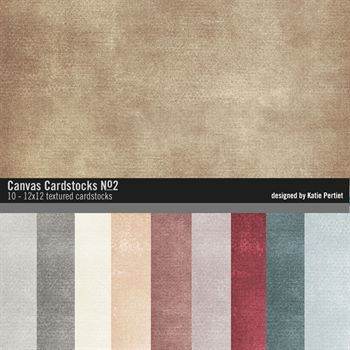 Canvas Cardstocks Paper Pack No. 02