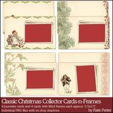 Classic Christmas Collector Cards And Frames