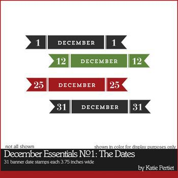 December Essentials No. 01 The Dates