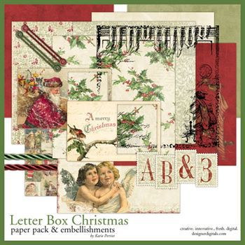 Letter Box Christmas Kit