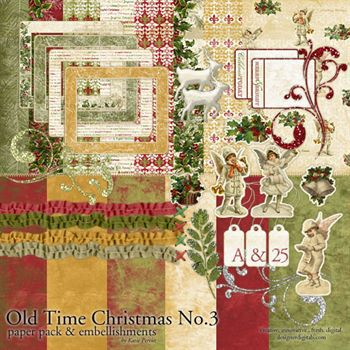 Old Time Christmas No. 03 Kit