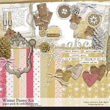 Winter Peony Kit