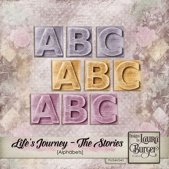 Lifes Journey - The Stories Alphabets