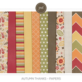 Autumn Thanks Papers