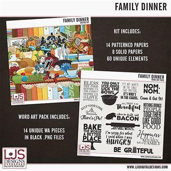 Family Dinner - Bundle