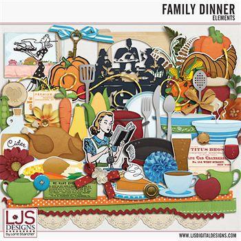 Family Dinner - Elements