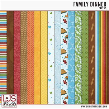 Family Dinner - Papers