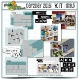 11x8.5 Day2Day Kit 2016