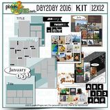12x12 Day2Day Kit 2016