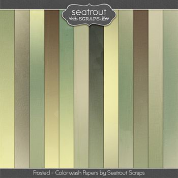 Frosted Colorwash Papers