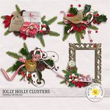 Jolly Holly Clusters