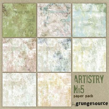 Artistry No. 05 Paper Pack
