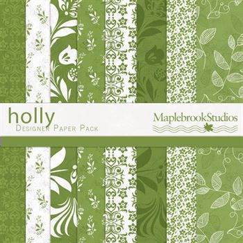 Holly Paper Pack