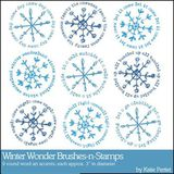 Winter Wonder Brushes And Stamps