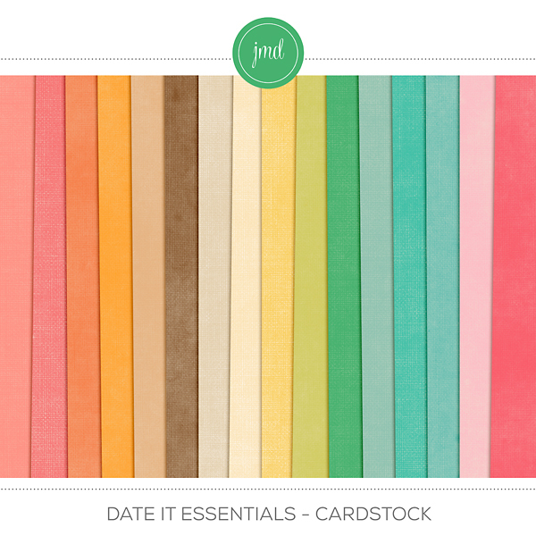 Date It Essentials - Cardstock