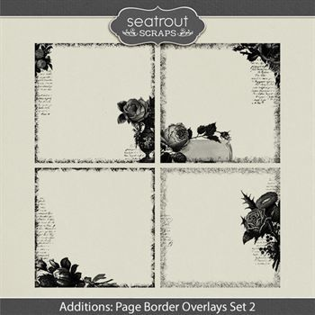 Additions - Page Border Overlays Set 2