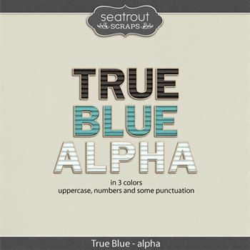 True Blue Alpha