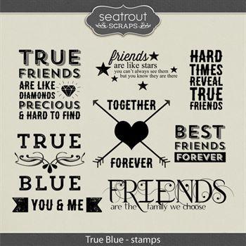 True Blue Stamps