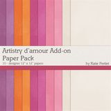 Artistry D'amour Add-on Paper Pack