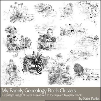 My Family Genealogy Clusters Megapak