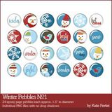 Winter Pebbles No. 01
