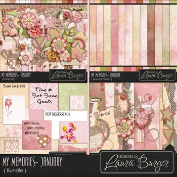 My Memories - January - Fwp Bundled Collection
