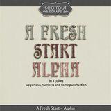 A Fresh Start Alpha