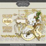 Anniversary Waltz - Gold 50th Add On Embellishments