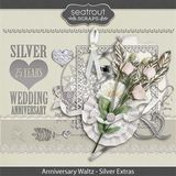 Anniversary Waltz - Silver 25th Add On Embellishments