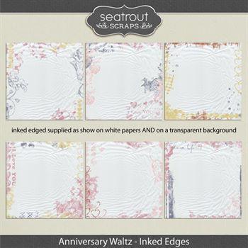 Anniversary Waltz Inked Edges