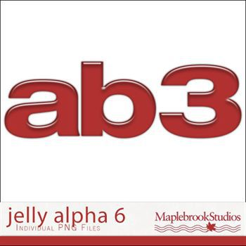 Jelly Alphabet No. 06