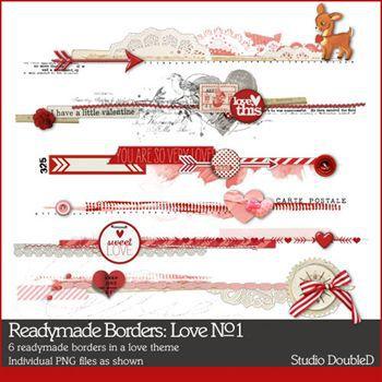 Readymade Borders Love No. 01