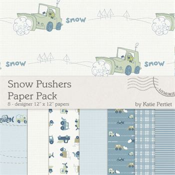 Snow Pushers Paper Pack