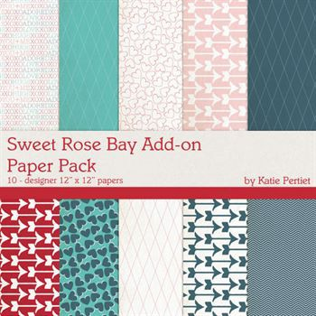 Sweet Rose Bay Add-on Paper Pack