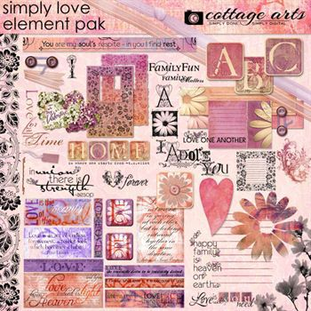 Simply Love Element Pak Walphaset
