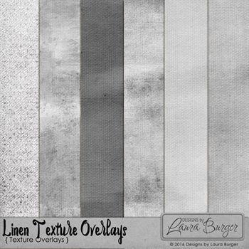 Linen Texture Overlays