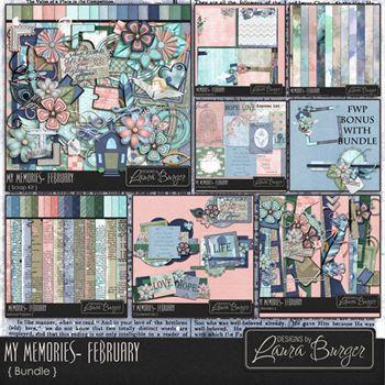 My Memories February - Bundle With Fwp Bonus