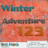 Winter Adventure Alphabet Sets