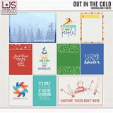 Out In The Cold - Journal Cards
