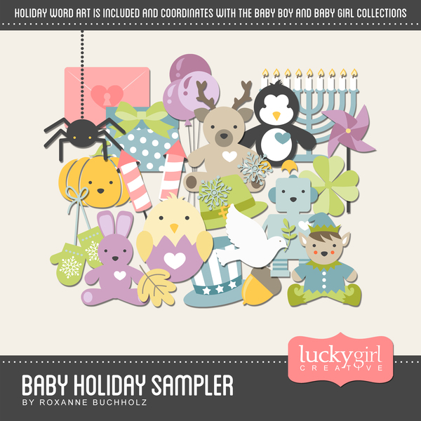 Baby Holiday Sampler