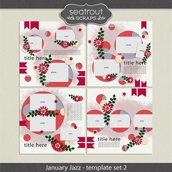 January Jazz Template Set 2