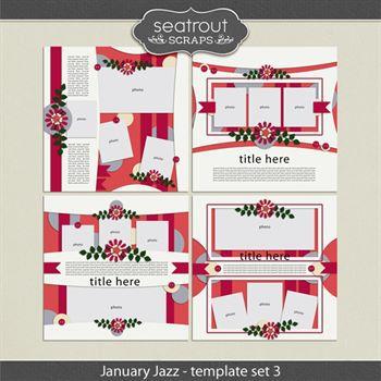 January Jazz Template Set 3