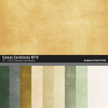 Canvas Cardstocks Paper Pack No. 10